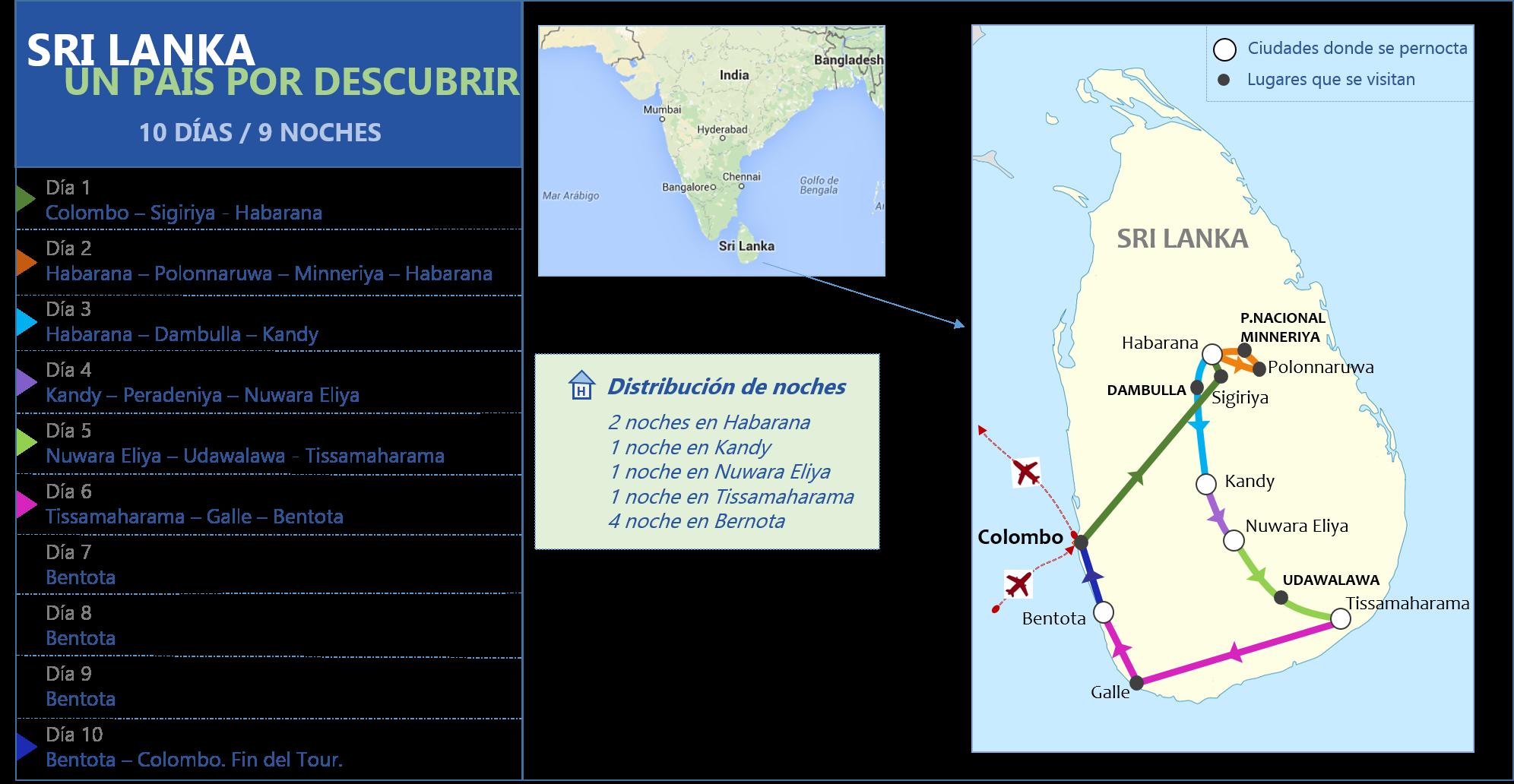 Sri Lanka Un País por descubrir 10d - 9n